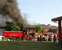 Tuzla Deri Sanayiinde Korkutan Yangın