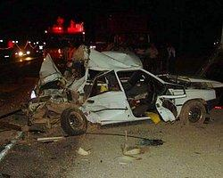 Akşehir'de Otomobil Takla Attı: 2 Ölü, 3 Yaralı