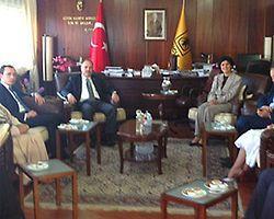 Gedikli'den Dicle Üniversitesi'ne Ziyaret