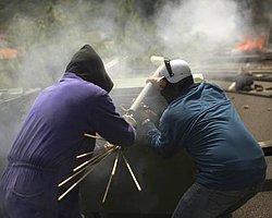 İspanya'da Madenci-Polis Savaşı!
