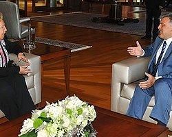 Cumhurbaşkanı Gül, Semra Özal'ı Kabul Etti