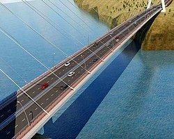 Türkiye'nin 3. Büyük Asma Köprüsü Yapılıyor