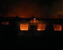 Viranşehir Hastanesinde Yangın