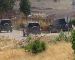 Generaller Suriye Sınırında İnceleme Yaptı
