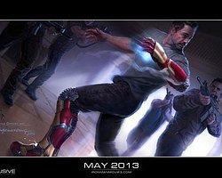 Iron Man 3'ten Yeni Konsept Görseli