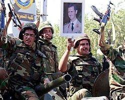 Suriye'den Savaş Tatbikatı