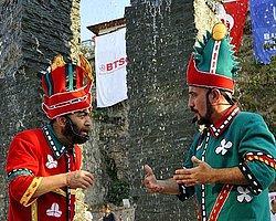 ''Yüzen Taşlar Heykeli'' açıldı