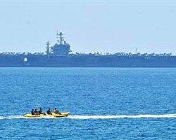 ABD Uçak Gemisi Antalya'da