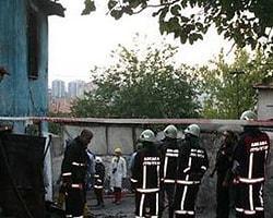 Ankara'da Yangın:1 Ölü