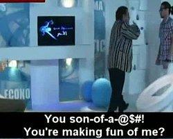 Kamera Şakası Mısırlı Oyuncuyu Adeta Delirtti!