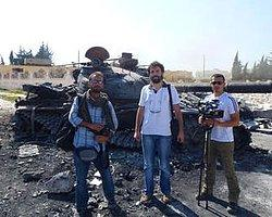 AA muhabiri Suriye'de vuruldu