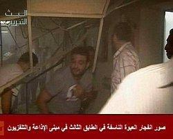 Suriye Devlet Televizyonunda Patlama