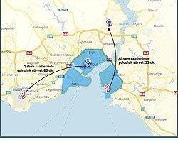 Yandex'ten İstanbul trafiğinin stres haritası