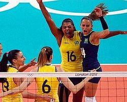 Voleybolda Altın Brezilya'nın