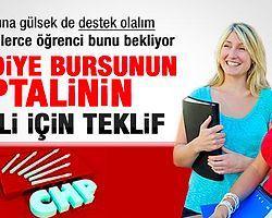 Belediye Bursunu İptal Ettiren CHP Geri Gelsin Diyor