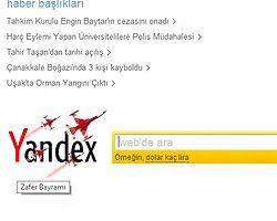 Yandex Zafer Bayramını unutmadı