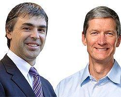 Google ve Apple CEO'ları Patent İhlallerini Konuştu