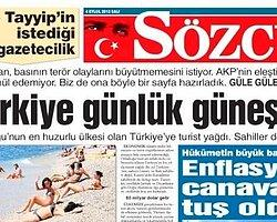 Sözcü Tayyip'in istediği gazeteciliğiyaptı!
