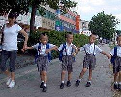 Çinli anneden ilginç çözüm! Çocuklarını numaralandırdı