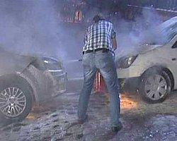 Beyoğlu'nda 8 Araç Kundaklandı