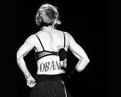Madonna'dan Obama'ya ilginç destek!