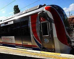 Gündem Marmaray Açılmadan Trenleri Sefere Başladı