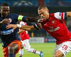 Montpellier başladı, Arsenal bitirdi