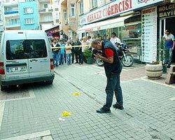 AK Partili yöneticinin işyerine silahlı saldırı