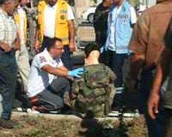 Sivas'ta Askeri Araç Devrildi: 2 Yaralı