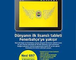 Fenerbahçeli Taraftarlara Tablet Sürprizi