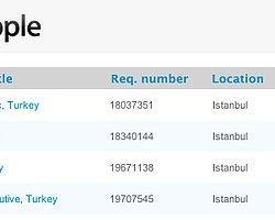 Apple Kariyer İlanlarına İlk Kez İstanbul'u Dahil Etti