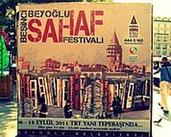 6. Beyoğlu Sahaf Festivali Bugün Başladı