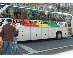 Terör Örgütü Sempatizanları Brüksel'de Öcalan'a Özgürlük İstedi