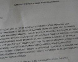 Kızı Kck'den Tutuklanan Aileye 'Evden Çıkın' Dayatması