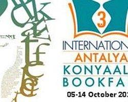 3. Uluslararası Antalya Konyaaltı Kitap Fuarı 5 Ekim'de Açılıyor
