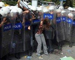 Ankara'da Savaş Karşıtı Gösteriye Müdahale