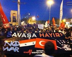 """""""Savaşa Hayır"""" Demek İçin Bu Akşam Taksim Meydanı'na"""