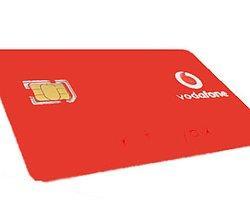Vodafone, Nano-Sım'lerini Satışa Sundu