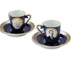 Atatürk Temalı Kahve Fincanı