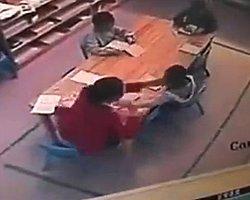 Öğretmen Şiddeti Böyle Görüntülendi