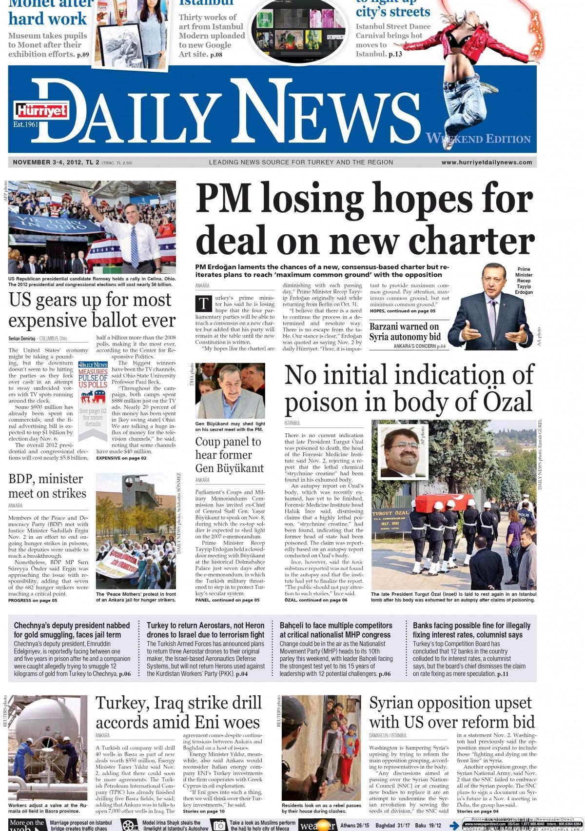 Gazete manşetleri (3 mayıs 2016) - fikrikadim