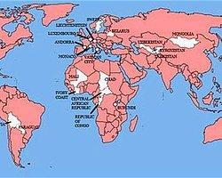 Sadece 22 Ülkeyi İşgal Edemediler