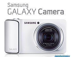 Samsung'un Android'li Ve 3G'li Kamerası Galaxy Camera Türkiye'de