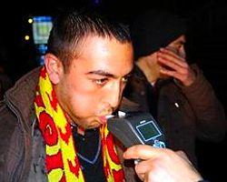 Süper Lig'de Seyirciye Alkol Kontrolü