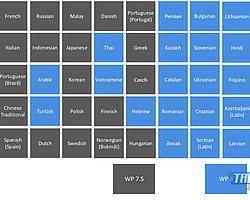 Microsoft Windows Phone 8 İçin 50 Farklı Dil Seçeneği Sunuyor
