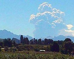 Şili ve Arjantin'de Yanardağ Alarmı