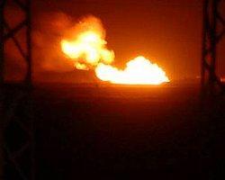 Petrol Boru Hattında Yangın
