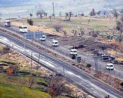 Kuzey Irak Sınırına Top Sevkiyatı