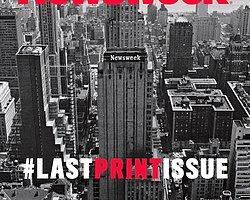 Newsweek Son Basılı Dergisini Yayınladı
