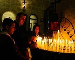Hatay''Da Yaşayan Hrıstiyanlar Noel''İ Kutladı